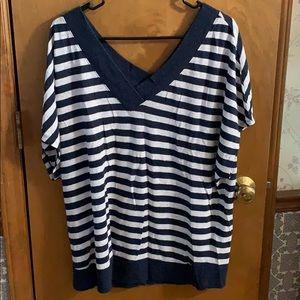 Light weight stripes sweater